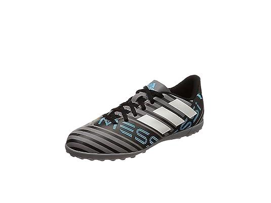 Adidas Nemeziz Messi Tango 17.4 TF J, Botas de fútbol Unisex Adulto, (Gris