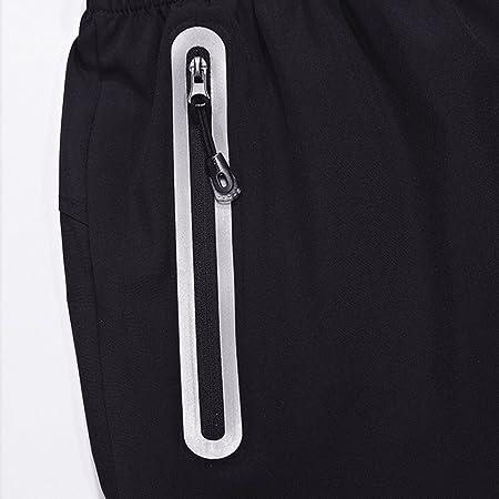 MAGCOMSEN Pantalones cortos para hombre (transpirables, de secado rápido, talla grande), hombre, Printed Blue, UK 3XL(Fit…