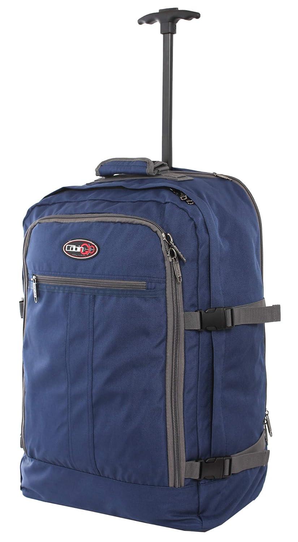 CABIN GO cod. MAX 5520 trolley - Mochila para equipaje de mano/cabina de viaje liviana. - 55 x 40 x 20 cm, 44 litros - con ruedas. Aprobado vuelo ...