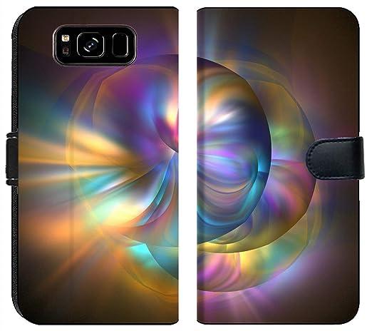 Amazoncom Samsung Galaxy S8 Flip Fabric Wallet Case Image