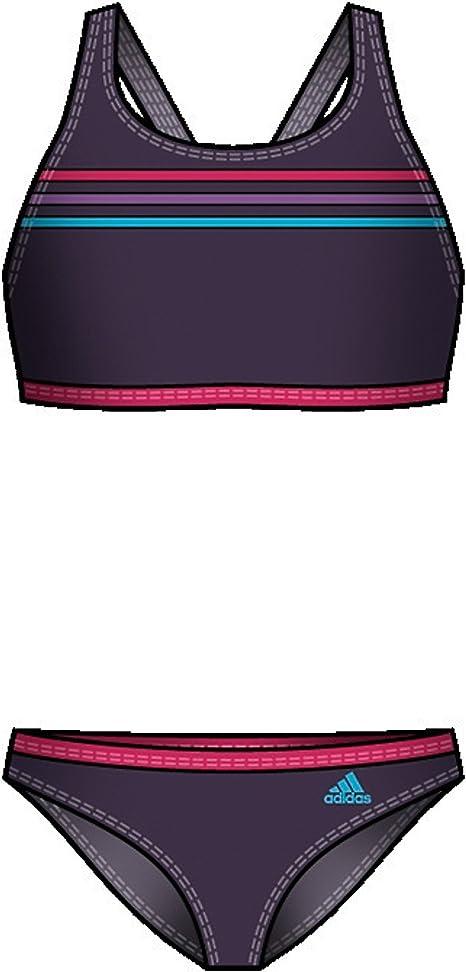 refrigerador cadena Denso  adidas Bikini, niña, color morado, tamaño 140: Amazon.es: Deportes y aire  libre