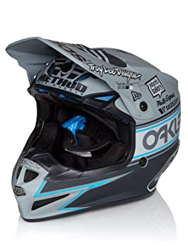 Troy Lee Designs Casco Mx 2019 Se4 Team Edition 2 Polyacrylite Gris (S, Gris