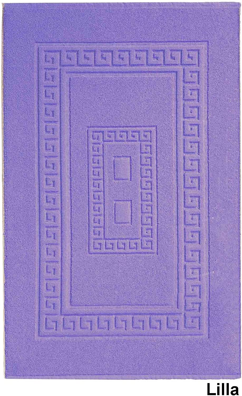 Casatessile Alfombras de ba/ño de Esponja 45X60 cm Azzurro Torino