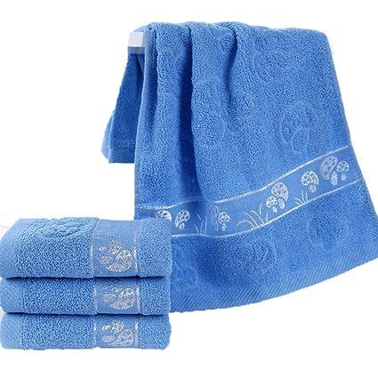 LOF-fei Toallas de Mano/Toallas de Lavabo de algodón (6 Paquetes de