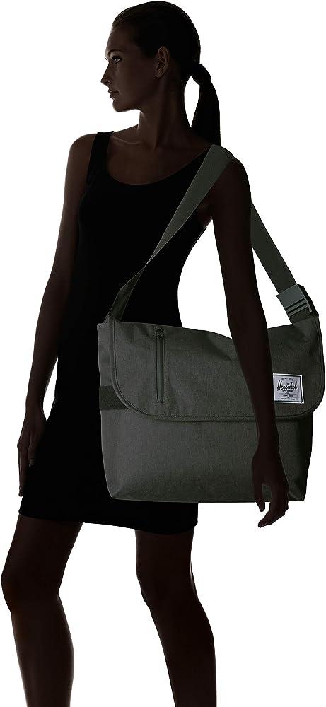 Herschel supply Odell Sacoche pour ordinateur portable Taille unique Noir Crosshatch noir