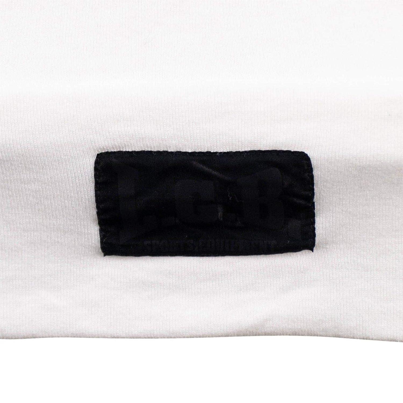 Mens Lgb //// Boxer Zip-Up Hoodie Sweatshirt 1// Xs White L.G.B