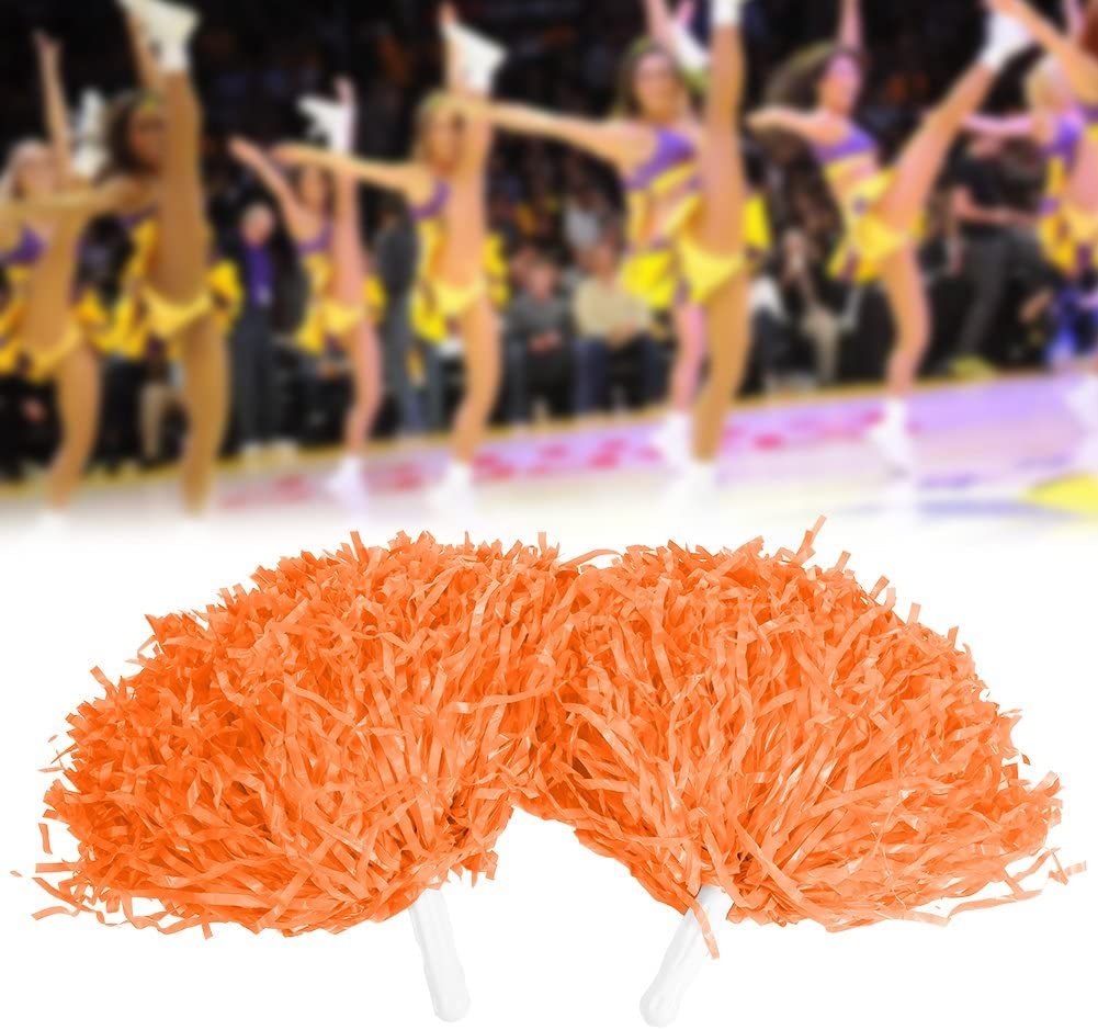 Dwawoo Pom Poms Sport Dance Cheer Kunststoff Pom Pom Dance Team Zubeh/ör
