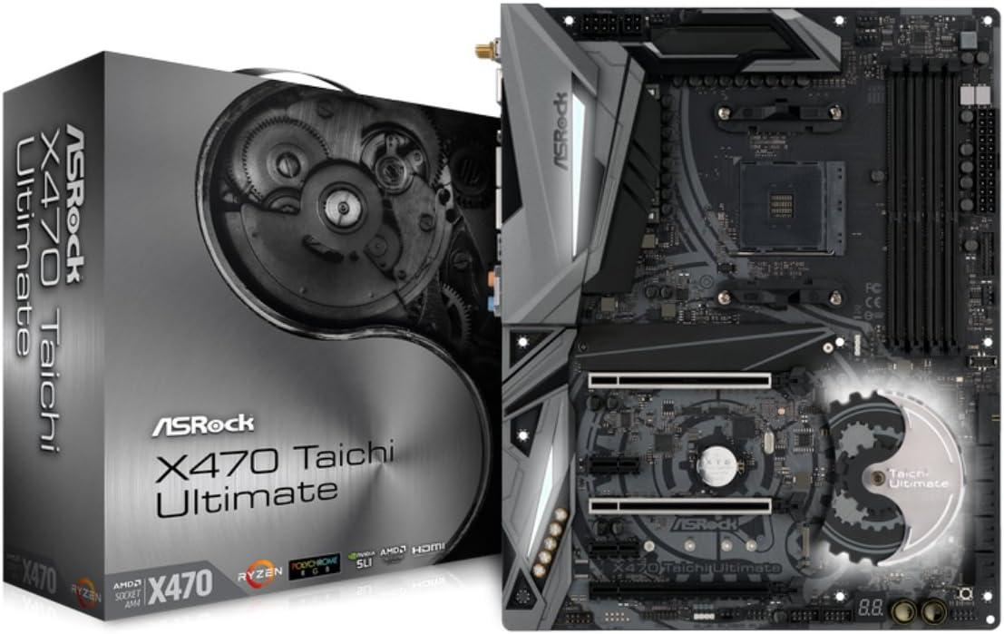 ASROCK AMD X470 Chip Set ATX Motherboard