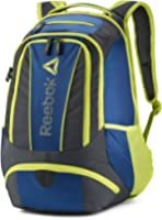Reebok Delta Stratofortress Backpack Blue/ Yellow (One Size, Blue/Yellow)