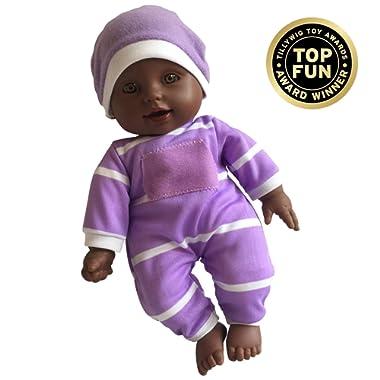 11 inch Soft Body Doll in Gift Box - Award Winner & Toy 11  Baby Doll (African American)