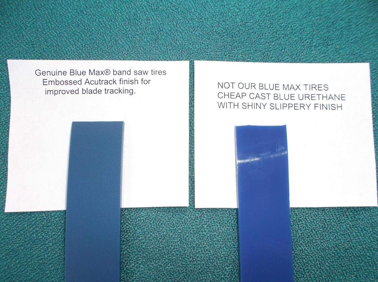 2 BLUE MAX URETHANE BAND SAW TIRES FOR SKIL BAND SAW 1619PA2626 WHEEL PROTECTOR by 3 (Image #1)