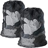Meowoo Large Mesh Laundry Bag with