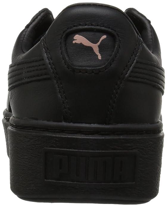 6031dc3a7d26 Amazon.com   PUMA Women's Basket Platform Metallic Fashion Sneaker    Fashion Sneakers