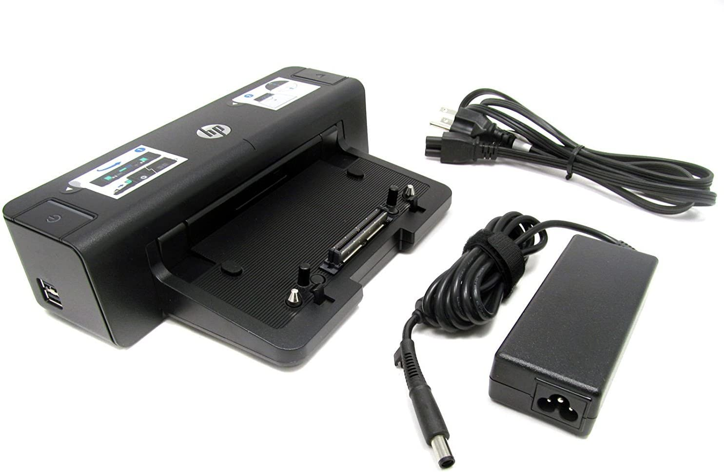 HP 90W Docking Station A7E32UT#ABA for Notebook - Proprietary Interface - 4 x USB Ports - Network (RJ-45) - DVI - VGA - DisplayPort
