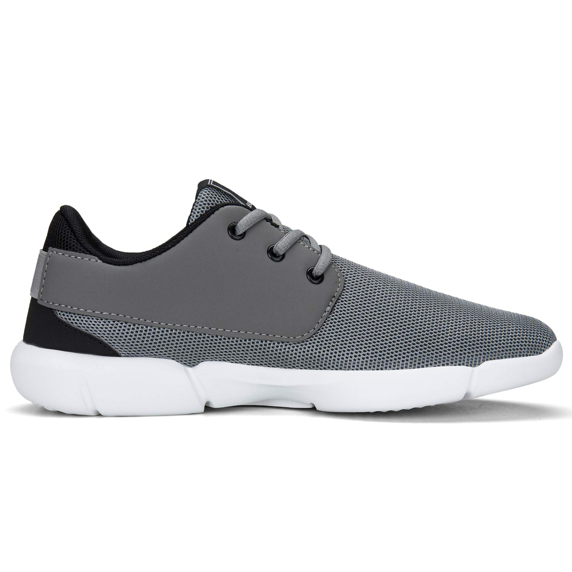 EAST LANDER Walking Shoes for Men Casual Sneakers Lightweight Athletic Shoes Lace-up Running Sports Shoes SPT001-M6-43