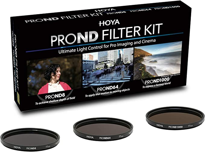 Hoya Pro Nd Kit 77mm Praktisches Set Mit 3 Kamera