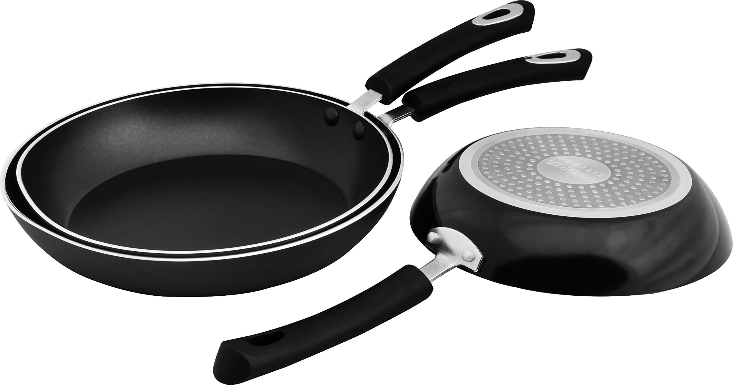 Utopia Kitchen Nonstick Frying Pan Set - 3 Piece Induction Bottom - 8 Inch, 9.5 Inch and 11 Inch by Utopia Kitchen (Image #5)