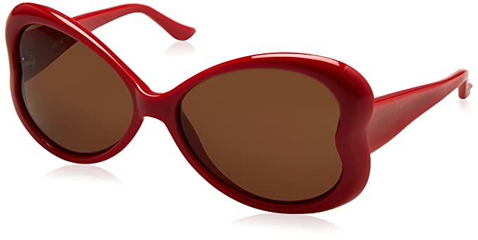 8273c63410 Moschino MO59805 Sunglasses Red Love Heart Shaped Womens Authentic  Sunglasses  Amazon.co.uk  Clothing