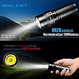 Flashlight, IMALENT Flashlight,Mailat IMALENT DN70 XHP70 3800LM 26650 LED Flashlight Tactical Rechargeable Lighting (Black)