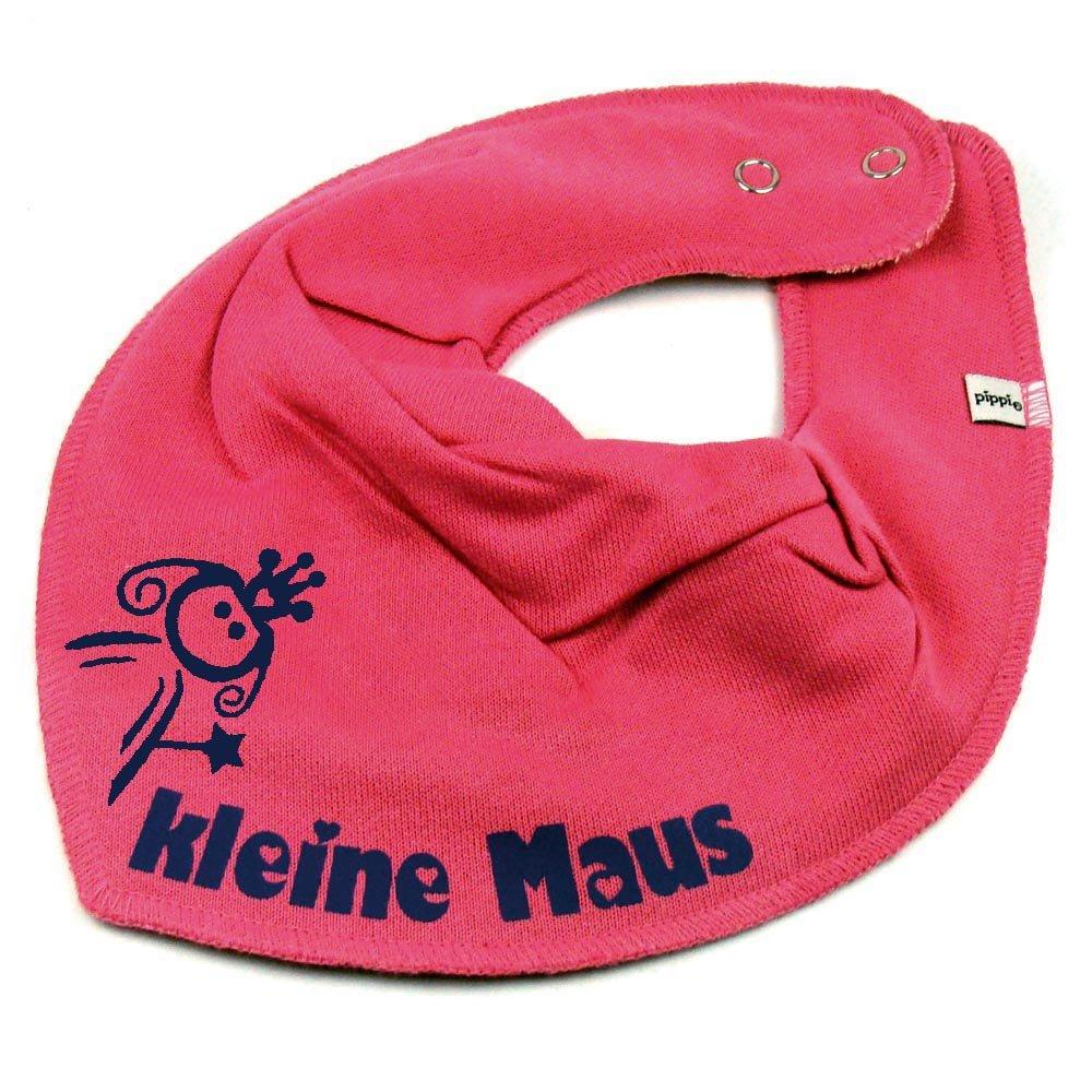 HALSTUCH PRINZESSIN mit Namen oder Text personalisiert dunkelblau für Baby oder Kind Elefantasie