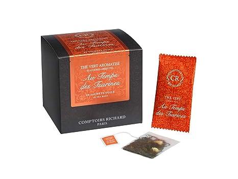 Amazoncom Comptoirs Richard Citrus Green Tea Au Temps Des