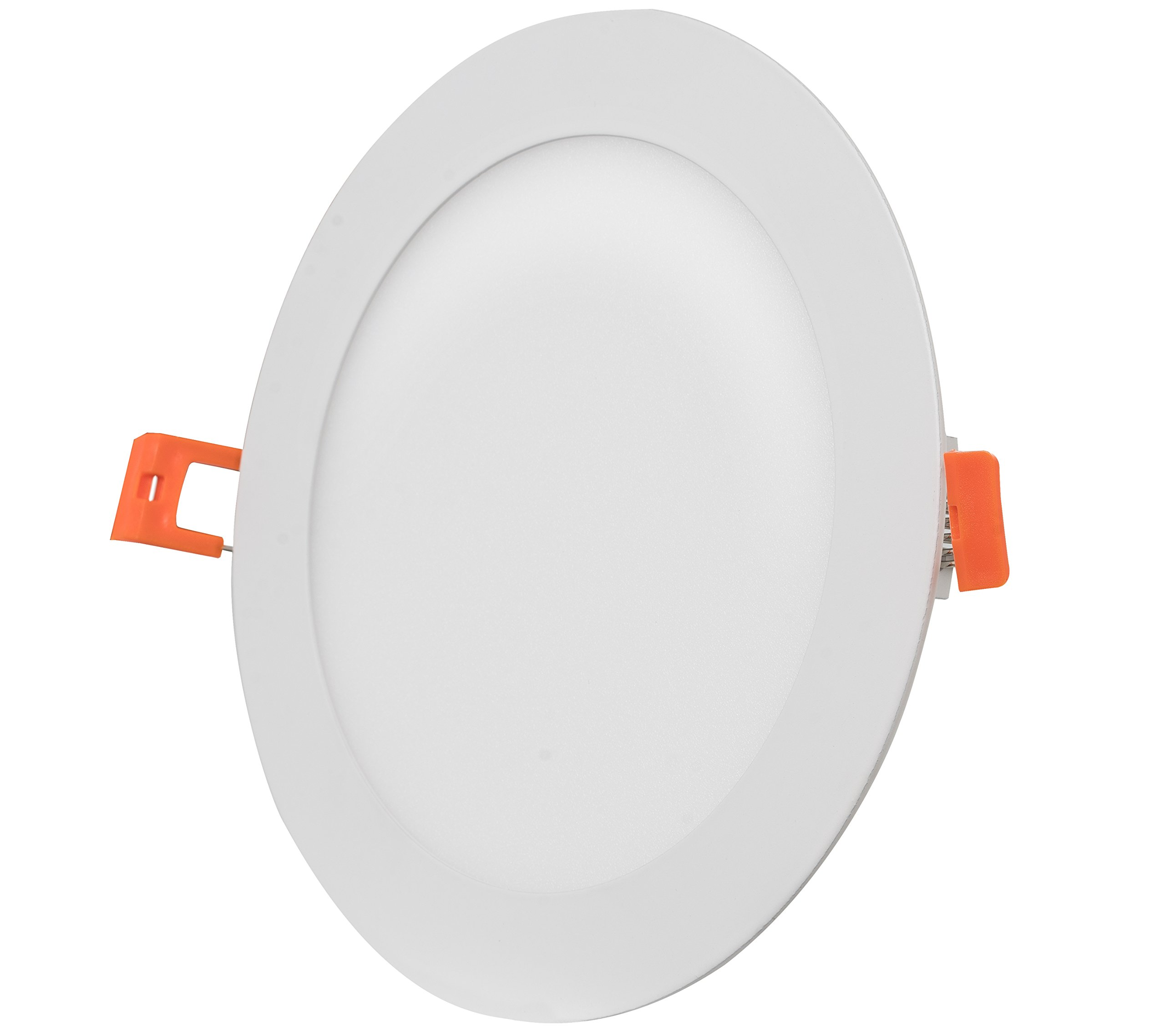 Westgate Lighting 15W 6'' Inch Ultra Thin Slim LED Recessed Light - Dimmable Retrofit Downlight Smooth Trim - Junction Box Included - No Housing Required - Ceiling Lights (8 Pack, 3000K Soft White) by Westgate (Image #3)