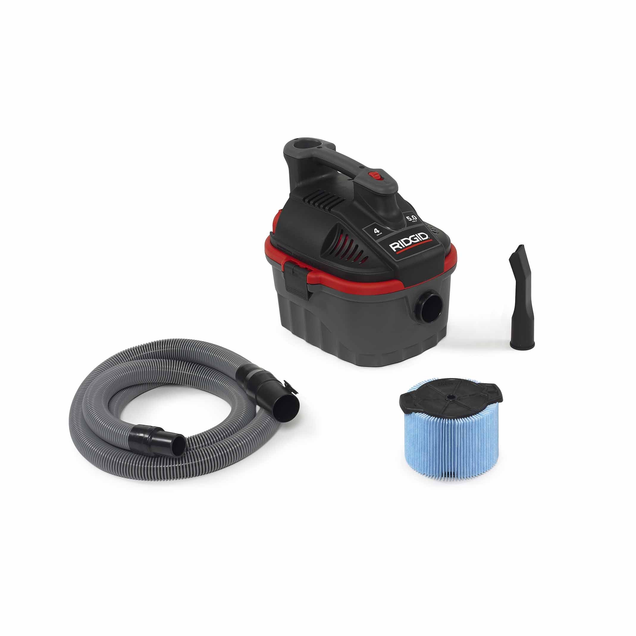 Ridgid 50313 4000RV Wet/Dry Vacuum, 4 gal, Red by Ridgid (Image #2)