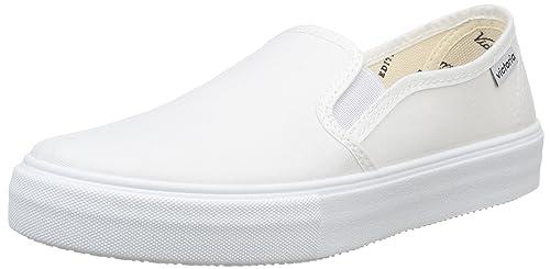Calego Slip On Lona, Sneakers da Unisex Adulto, Nero(Noir (Negro)), 45
