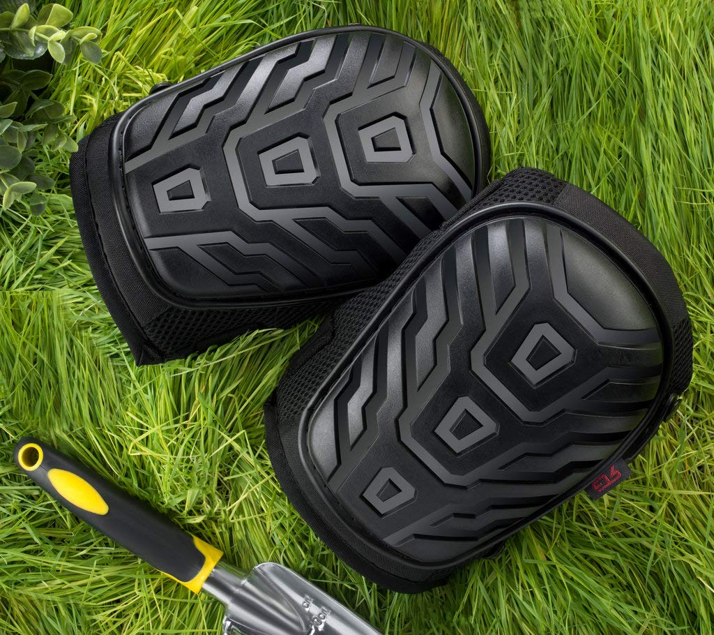 Rockland Guard Professional Knee Pads with Protective Knee Foam and Heavy Duty Soft Gel Cushion Padding for Work, Garden, Construction and Flooring Use - Adjustable Easy Clip On Straps by Rockland Guard (Image #3)