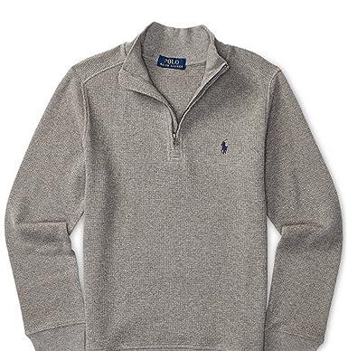 560aa936daf0 Amazon.com  Polo Ralph Lauren Boys Boy s Waffle Knit Pullover ...