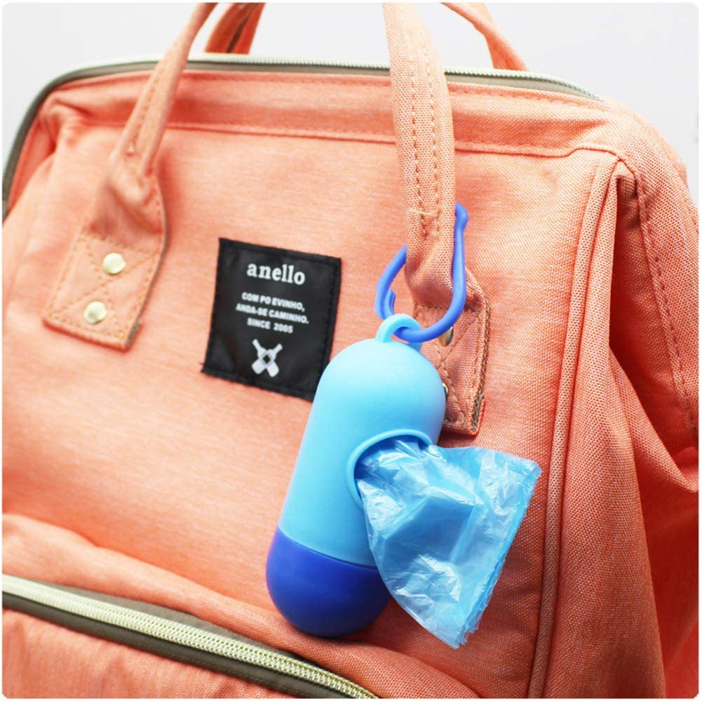 YaptheS Portable Diaper Bag Dispenser Refills Diapers With Bags 20pcs Disposable Discarded Garbage Bag Abandon Color Nice Gift