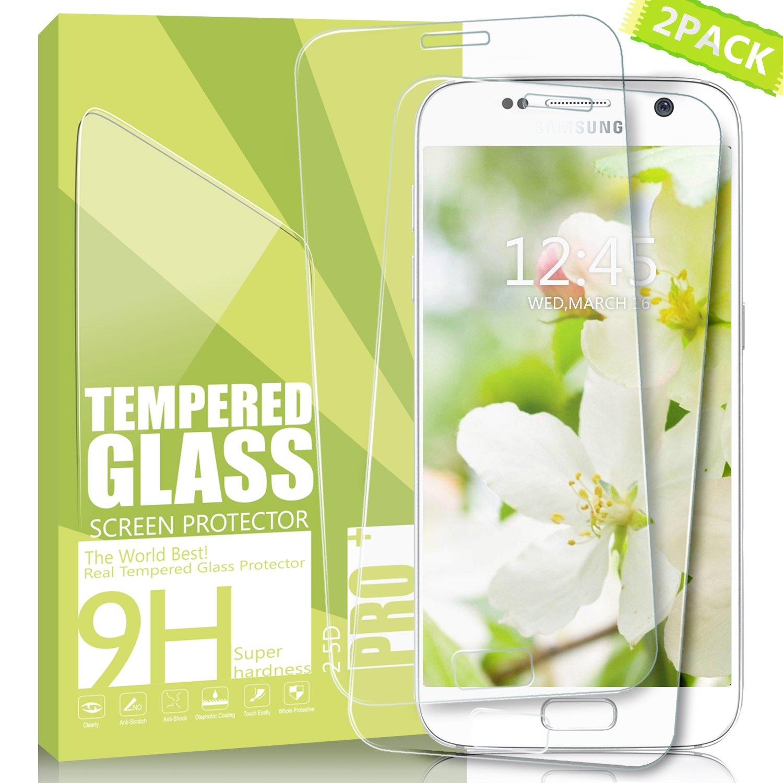 Amazon.com: Galaxy S7 Screen Protector Kiomi Full Screen Coverage ...