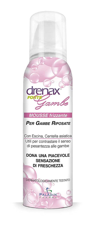 Drenax Mousse Rinfrescante per le Gambe - 150 ml Paladin Pharma