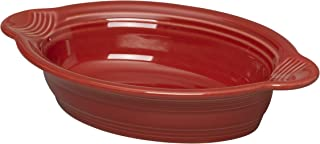product image for Fiesta 9 Inch by 5 Inch Individual Oval Casserole, Scarlet