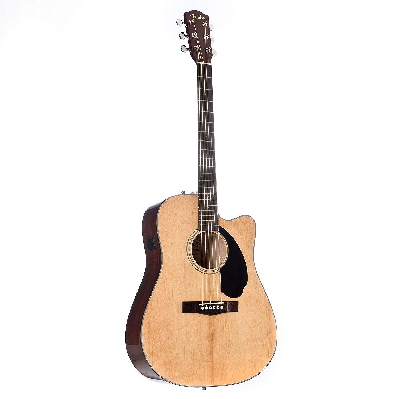Fender エレキアコースティックギター CD-60SCE, Natural ドレッドノート ナチュラル B07FYQD6BK