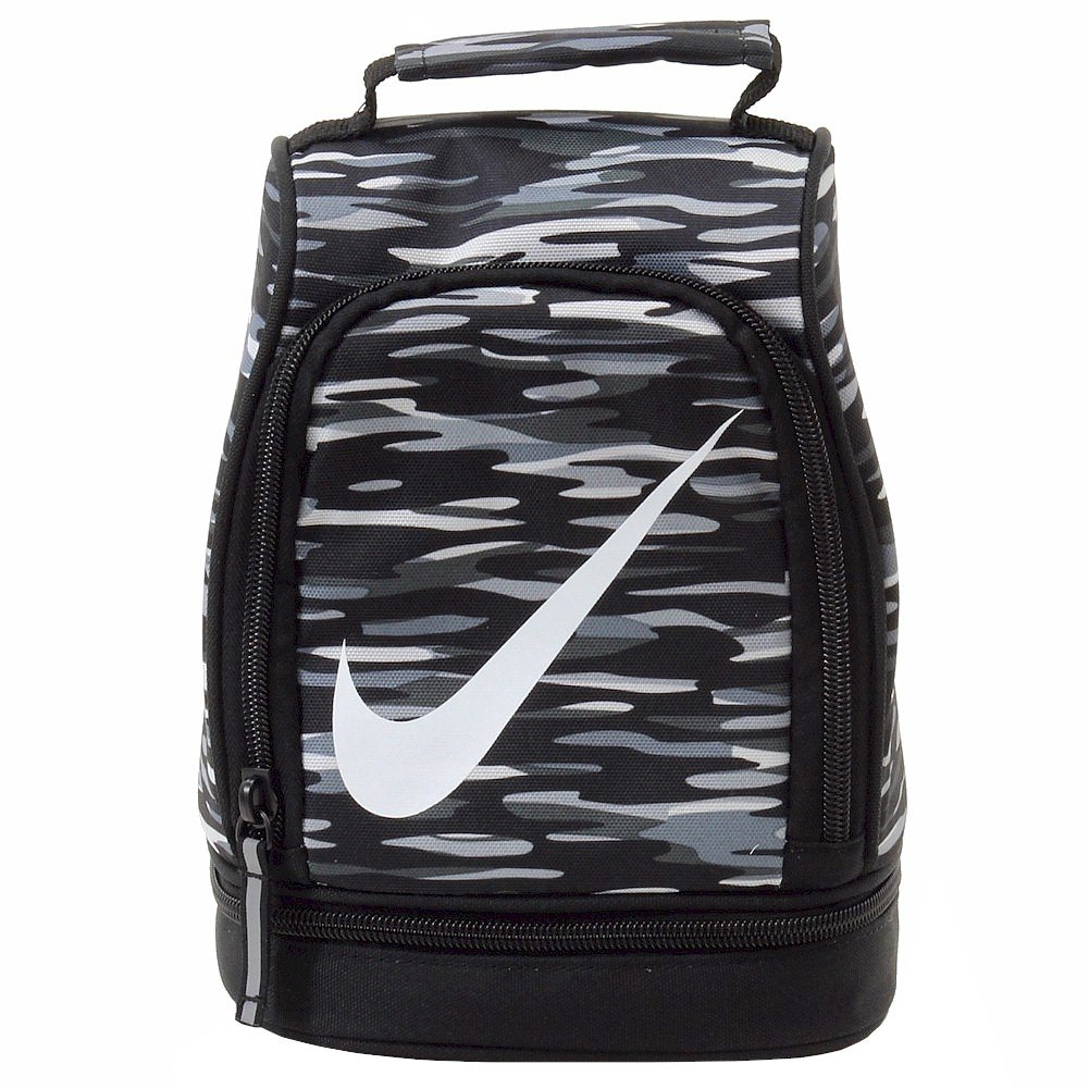 Nike Dome Lunch Tote Black/Cool Gray/White (Black/Cool Gray/White) by NIKE