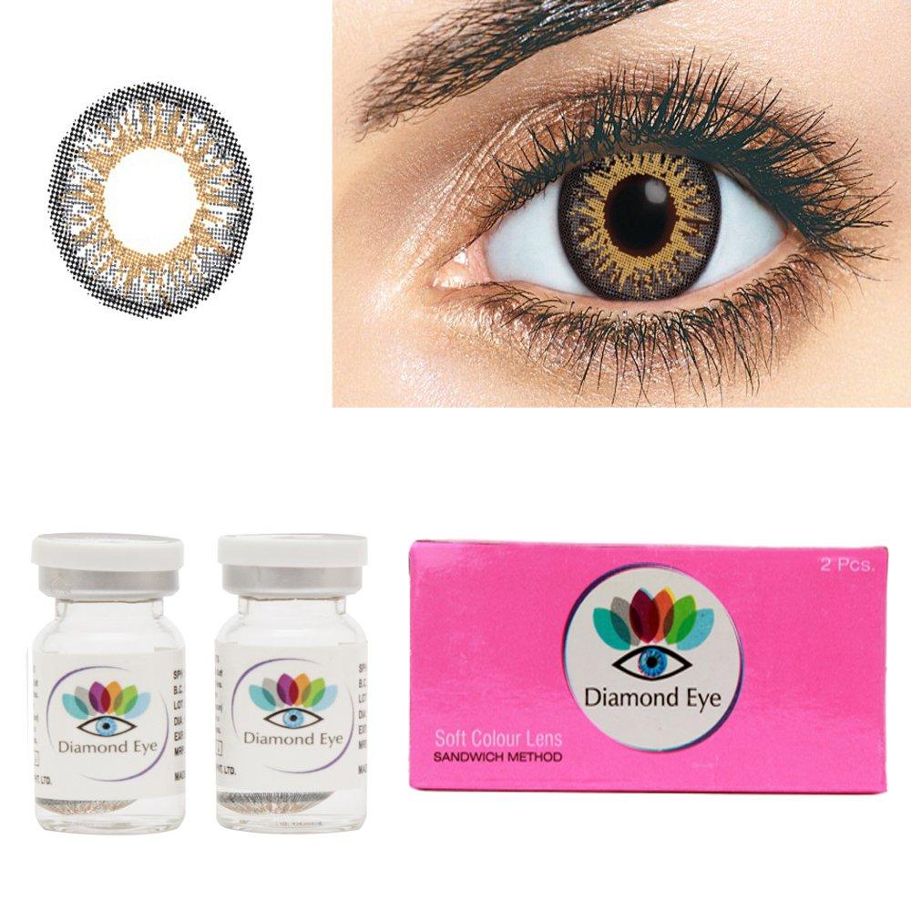 Buy diamond eye yearly grey colored contact lenses 0 power online buy diamond eye yearly grey colored contact lenses 0 power online at low prices in india amazon nvjuhfo Choice Image