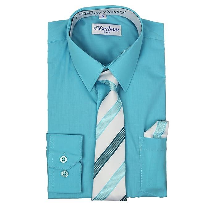 Amazon.com: Berlioni Italia - Camisa de manga larga para ...