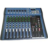 CT8 Mezclador estéreo profesional de 8 canales Live