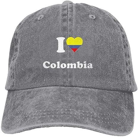 Reghhi Love Colombia Gorras de béisbol Ajustables Sombreros de ...