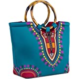 Neoprene Lunch Bag by CHAUDER - Insulated Lunch Boxes Lunch Tote with Zipper for Women, Adults, Girls, Toddler Nurses - Carry Case for Work, School - Dashiki - Dark Green
