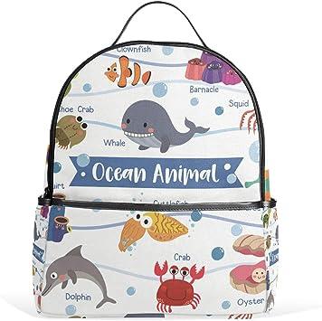 Nursery Bag Whale Children/'s Backpack Handmade