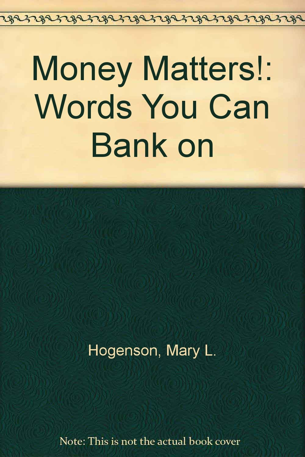 words that deals with money