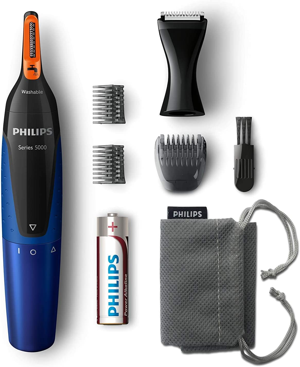 Philips NT5175/16 - Cortadora de vello facial (potencia 170 W), multicolor