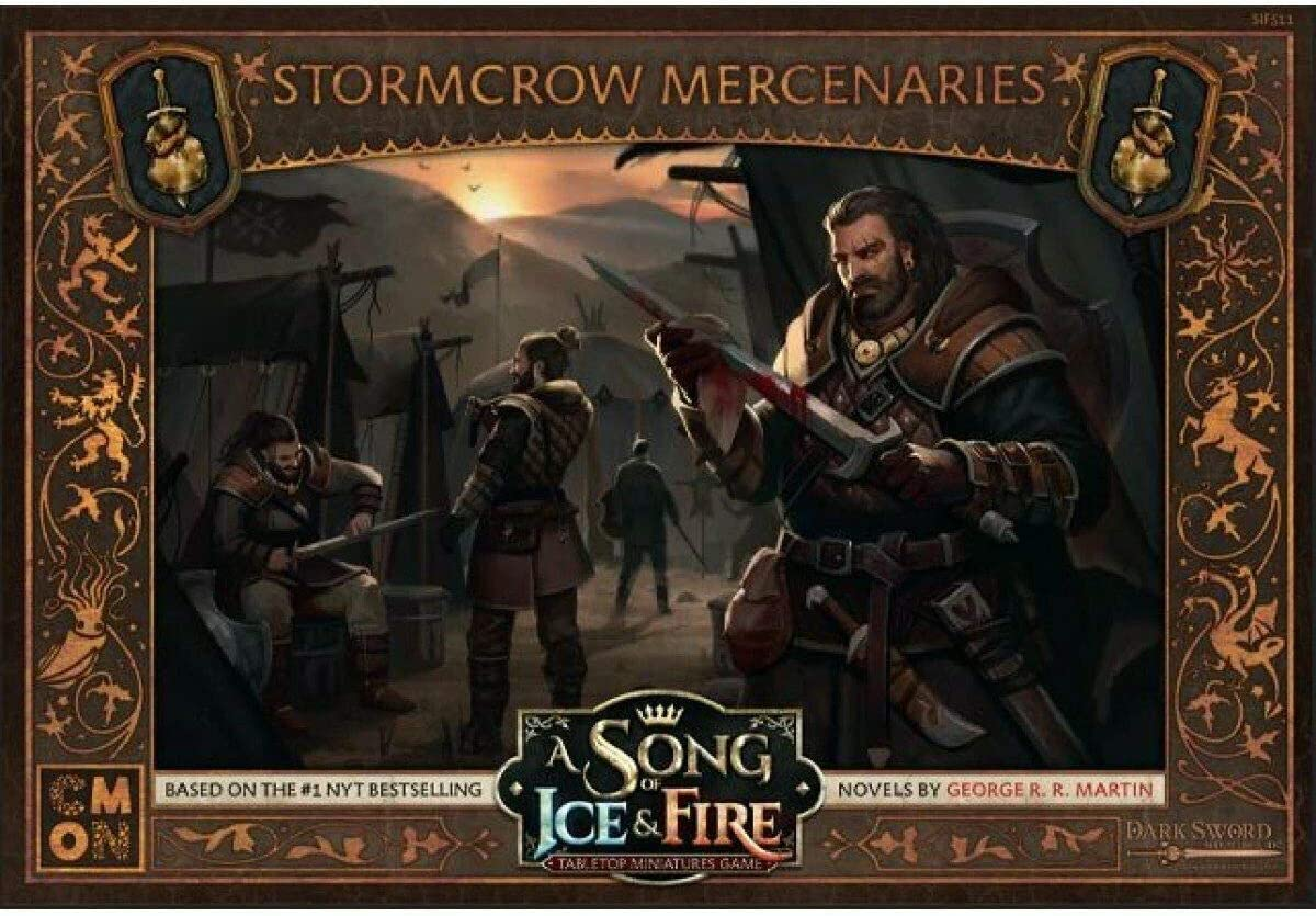 CMON A Song of Ice & Fire Tabletop Miniatures Game: Stormcrow Mercenaries Unit Box