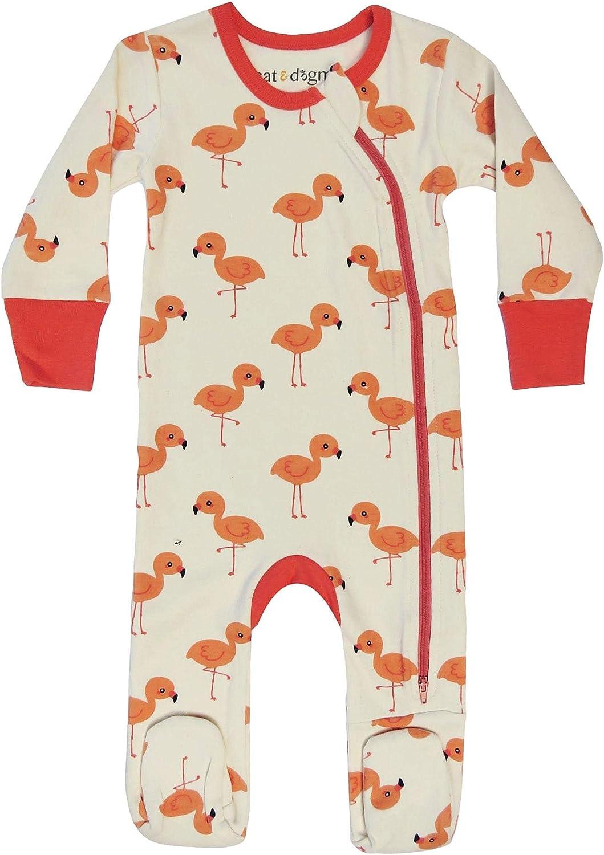 Cat /& Dogma Organic Unisex Baby Footie Pajamas