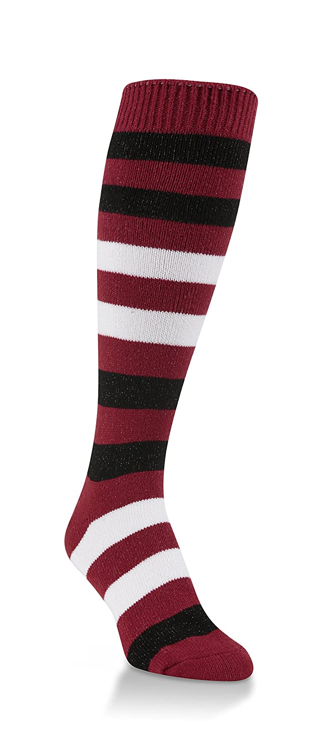 Worlds Softest Striped Team Womens Over the Calf Socks One Size Fits Most WSTMOTC-627