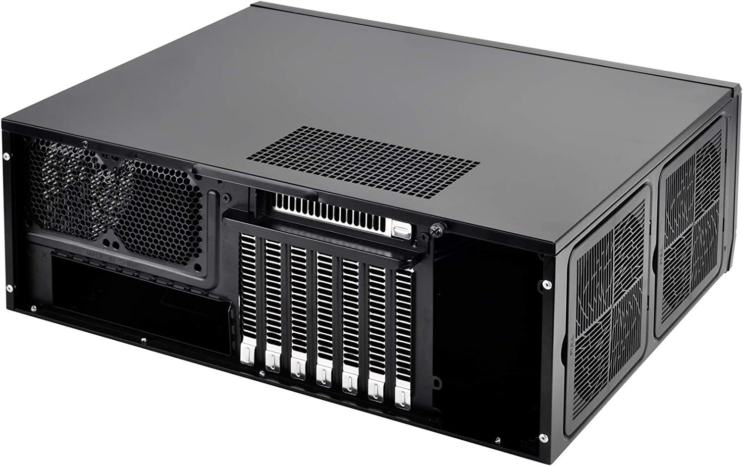 SilverStone Technology SST-GD10B-USA Home Theater Computer Case HTPC with Lockable Front Panel for ATX//Micro-ATX Motherboards GD10B-USA