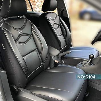 VW CADDY Maß Schonbezüge Sitzbezug Sitzbezüge Fahrer /& Beifahrer G102