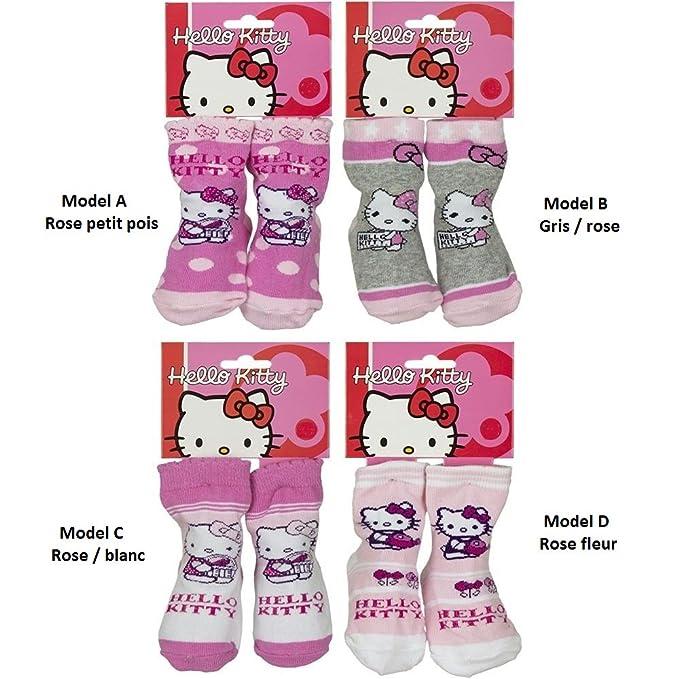 sanrio HELLO KITTY - Calcetines - para bebé niña rose blanc ...